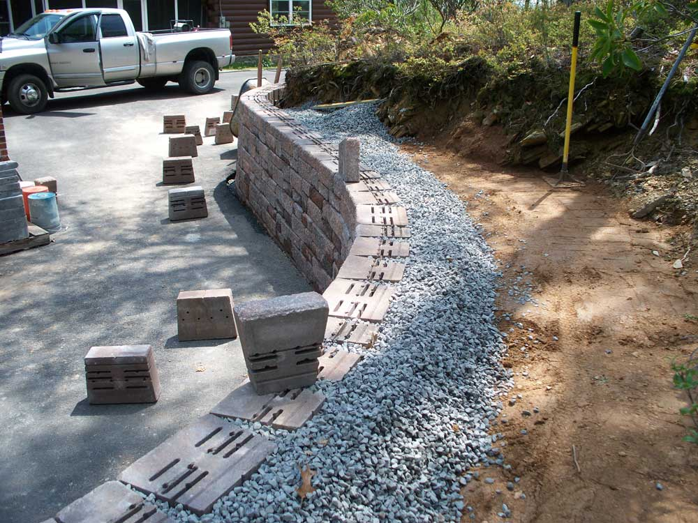 Quality Concrete and Masonry - Retaining Walls - Tavis Newman