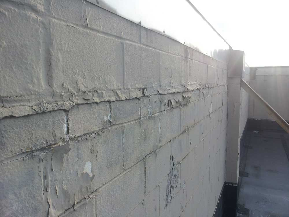 Quality Concrete and Masonry - Concrete Repair and Tuck Pointing - Tavis Newman