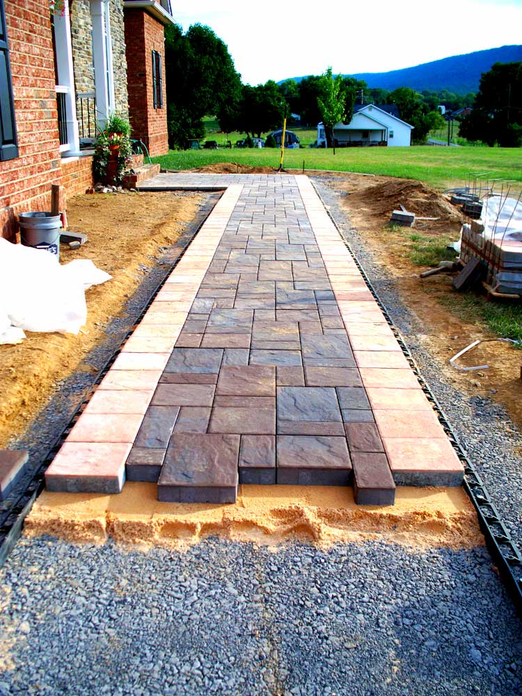 Quality Concrete And Masonry   Patios Walkways And Steps   Tavis Newman