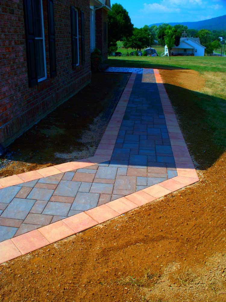 Quality Concrete and Masonry - Patios walkways and steps - Tavis Newman